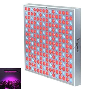 Erligpowht Pflanzenleuchte 45 Watt 225 LEDs Rot&Blau LED-Pflanzenlampe Pflanzen Wachstumslampe Pflanzenlicht Wuchslampen Innengarten Pflanze wachsen Licht Hängeleuchte - 1
